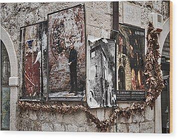 Four Posters Wood Print by Stuart Litoff