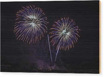 Fourth Of July Traditions  Wood Print by Jason Smith