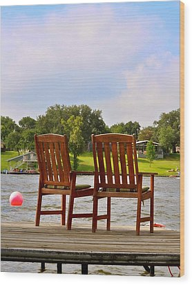 Fourth Of July Vacation Wood Print