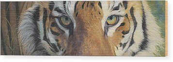 Forever Wild Wood Print by Lucie Bilodeau