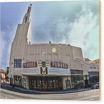 Fox Theater - Pomona - 06 Wood Print by Gregory Dyer