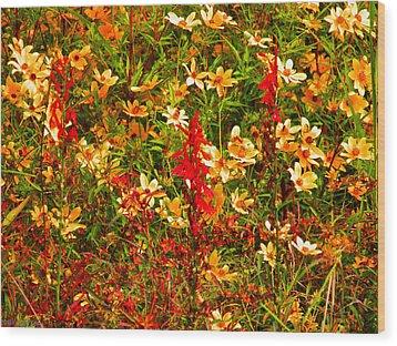 Foxfire 1 Wood Print