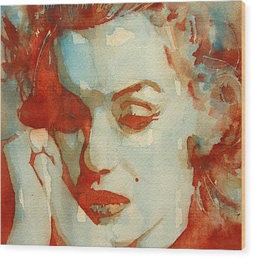 Fragile Wood Print by Paul Lovering