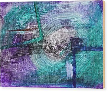 Frame Of Mind Wood Print by Tracey Myers