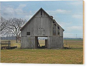 Framed Barn Wood Print by Steven Michael
