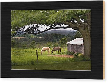 Framed Wood Print by Don Powers