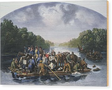 Francis Marion (c1732-1795) Wood Print by Granger
