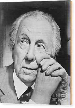 Frank Lloyd Wright Wood Print by Granger
