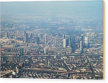 Frankfurt Wood Print