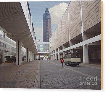 Frankfurter Messe Turm Wood Print
