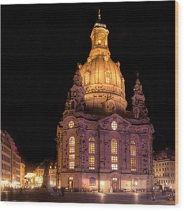Frauenkirche Wood Print by Steffen Gierok