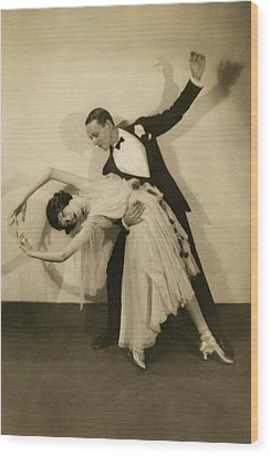 Fred Astaire Wood Print by Edward Steichen
