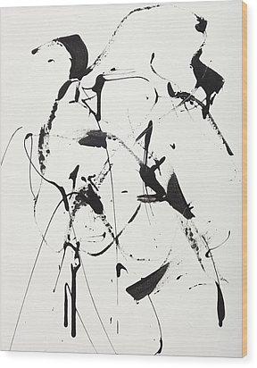 Free Man In Paris Wood Print
