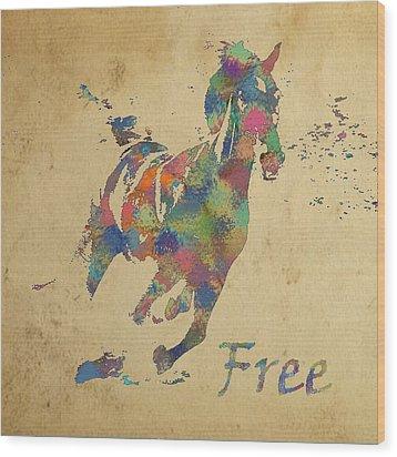 Free Wood Print by Soumya Bouchachi