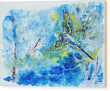 Free Wood Print by Zaira Dzhaubaeva