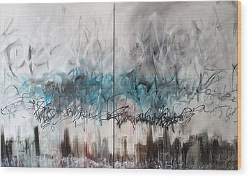 Freedom Is Expensive Wood Print by Aaron Stansberry