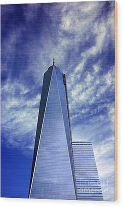 Wood Print featuring the photograph Freedom Tower - New York City by Rafael Quirindongo