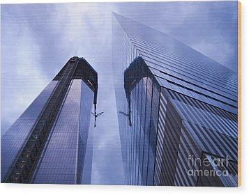 Freedom Tower Ground Zero New York City Wood Print by Sabine Jacobs