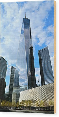 Freedom Tower Wood Print by Stephen Stookey