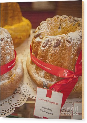 French - Alsace Pastry Wood Print by Brian Jannsen