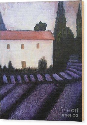 French Lavender Wood Print by Venus