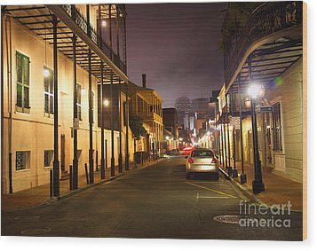 French Quarter Wood Print by Denis Tangney Jr