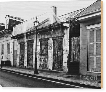 French Quarter Study 1 Wood Print