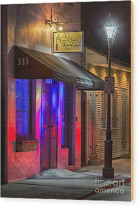 French Quarter Wedding Chapel Wood Print by Jerry Fornarotto