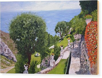 French Riviera Wood Print by Graciela Castro