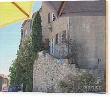 French Riviera - Ramatuelle Wood Print