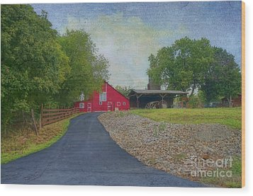 Wood Print featuring the photograph Fresh Country Charm by Liane Wright
