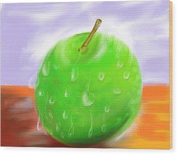 Fresh Fruit Wood Print by Twinfinger