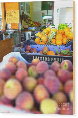 Wood Print featuring the photograph Fresh Fruit by Vicki Spindler