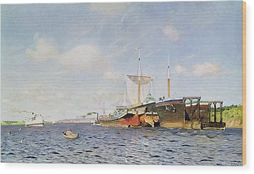 Fresh Wind On The Volga Wood Print by Isaak Ilyich Levitan