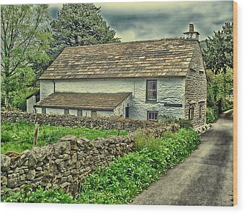 Friends Meeting House England Wood Print by Movie Poster Prints