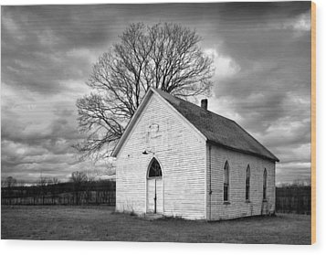 Friendship Church Wood Print by Wendell Thompson