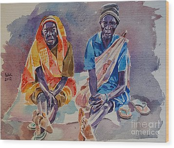 Friendship  Wood Print by Mohamed Fadul