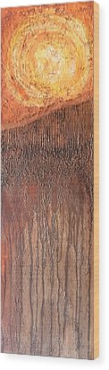 Fringe Wood Print by Buck Buchheister