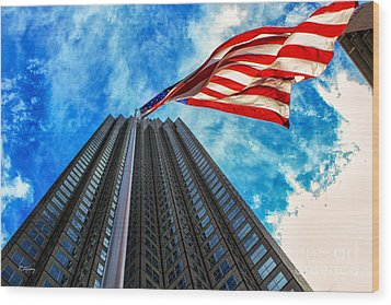 From A Different Perspective II Wood Print by Rene Triay Photography
