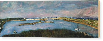 From Coast Guard Beach To Nauset Beach Wood Print