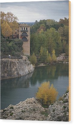 From Pont Du Gard Wood Print