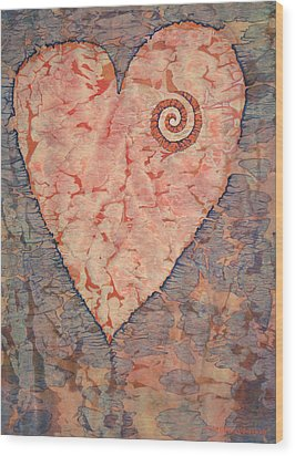 From The Heart Wood Print by Lynda Hoffman-Snodgrass