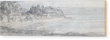 From The Heathfields Seat Wood Print by Francis Towne