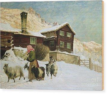 From Vaga Wood Print by Gustav Wentzel