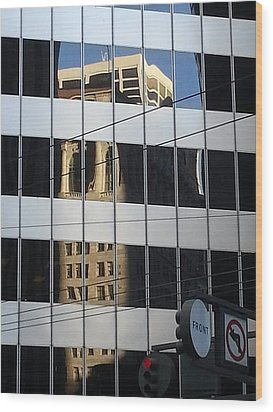 Front And Market Wood Print by Danny Lynch