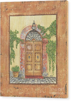 Front Door 2 Wood Print by Debbie DeWitt