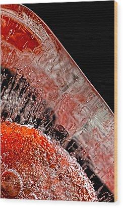 Frozen Balls Wood Print by Bob Orsillo