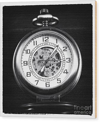Frozen In Time Wood Print by John Rizzuto