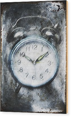 Frozen In Time Wood Print by Skip Nall