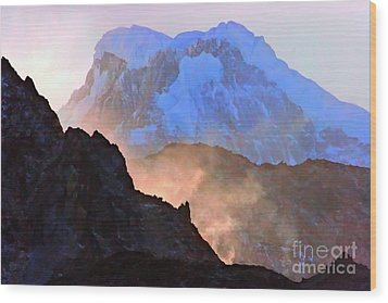 Frozen - Torres Del Paine National Park Wood Print